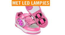 Heelys-PLUS-LIGHTED-(Neon-Pink-Light-Pink-Silver)