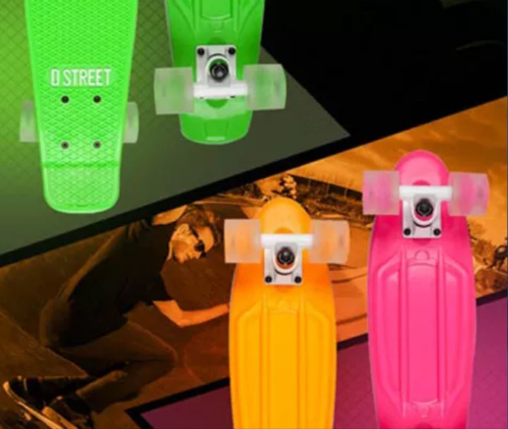 SKATEBOARDS - PENNYBOARDS - (STUNT)STEPJES