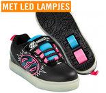 (maat-31-&-32)-Heelys-POW-LIGHTED-(Black-Neon-Blue-Neon-Pink)