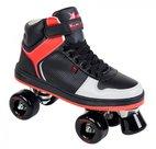 (maat-38)-Rookie-Rolschaatsen-HYPE-HI-TOP-(zwart-rood)