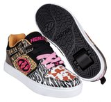 Heelys MOTION (White/Black/Tan/Animal Print)_