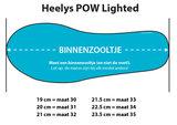 (maat 31 & 32) Heelys POW LIGHTED (Black/Neon Blue/Neon Pink)_