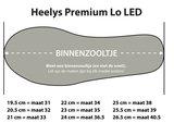 Heelys PREMIUM LO (Silver Chrome)_