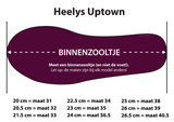 Heelys UPTOWN (Black/Sparkle/Multi)_