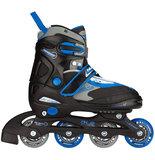 Nijdam Inline Skates, verstelbaar (zwart)_