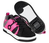 (maat 32) Heelys REPEL (Black/Charcoal/Hot Pink)_