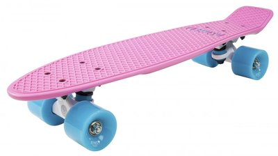 D-STREET Pennyboard (Pink/Blue)