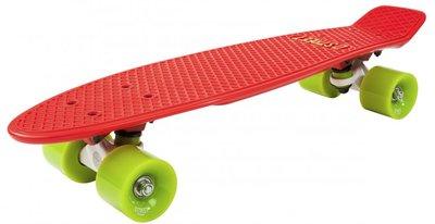 D-STREET Pennyboard (Red/Green)