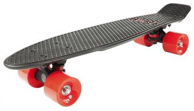 D-STREET Pennyboard (Black/Red)