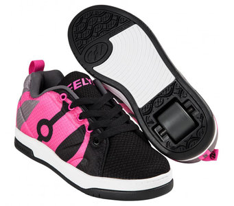 (maat 32) Heelys REPEL (Black/Charcoal/Hot Pink)