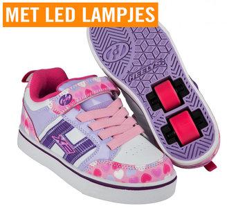 Heelys BOLT X2 (Light Pink/Lilac/Hearts)