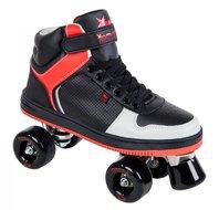 Rookie-Rolschaatsen-HYPE-HI-TOP-(zwart-rood)