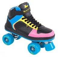 Rookie-Rolschaatsen-HYPE-HI-TOP-(zwart-blauw-roze-geel)